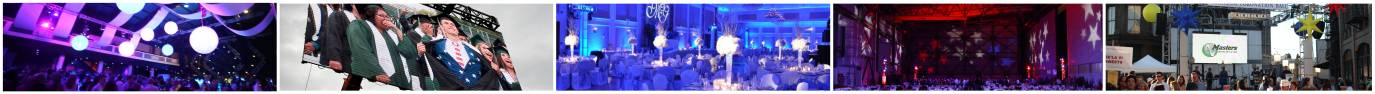 special event audiovisual services